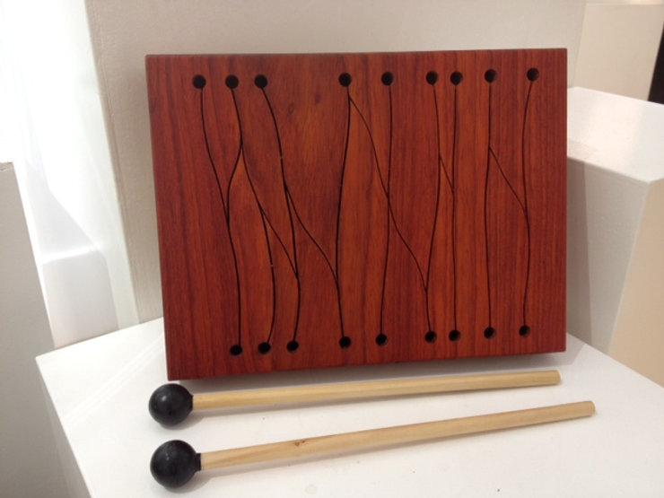 furninture titled SOLD- 'The Flow' Talking Drum by artist benjamin mclaughlin.