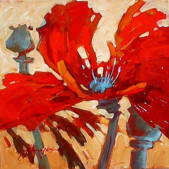 multi-colour acrylic painting titled SOLD - What I'd Give by artist gail johnson.