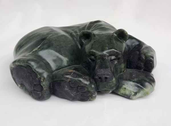 brazilian soapstone scupture titled SOLD - Bare Feet by sculptor roy hinz.