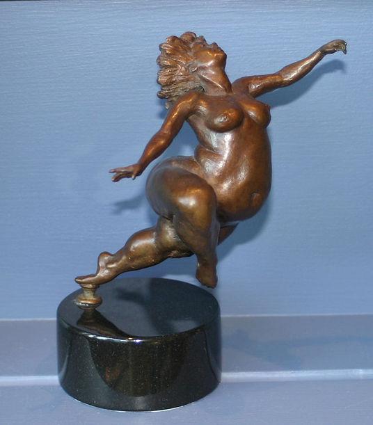 bronze sculpture titled Bronze Sculpture by andrew benyei