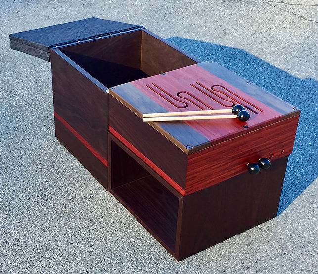 furninture titled SOLD-Bench commission - image 2 by artist benjamin mclaughlin.