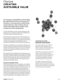 2014 Clariant Factbook