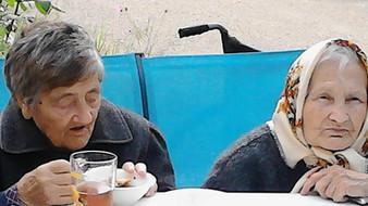 """Два дня рождения в пансионате для пожилых людей """"Пурхма"""""""
