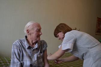 Уход за больными пожилого возраста