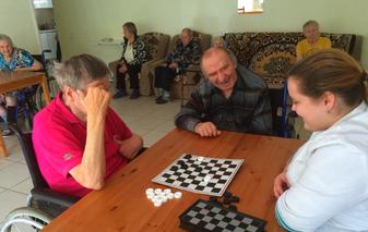 Турнир по шашкам и домино