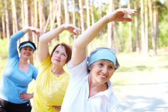 Важность наличия физических нагрузок для пожилых людей