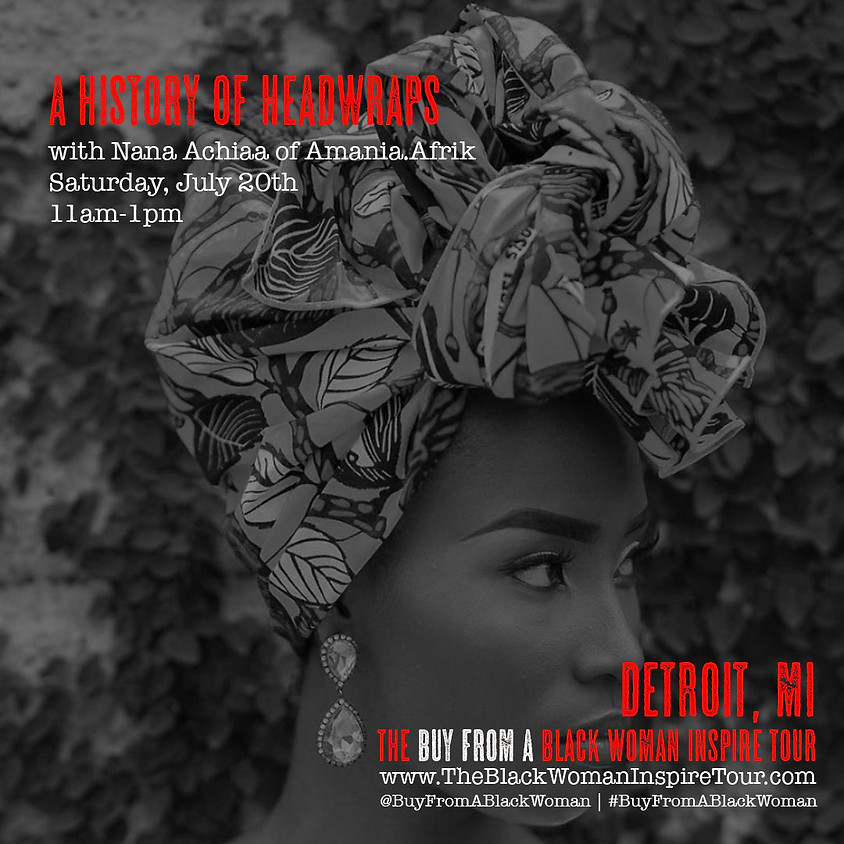 Detroit, MI   A History of Headwraps