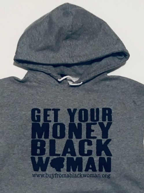 Get Your Money Black Woman Hoodie