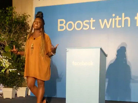I spoke at a Facebook event…