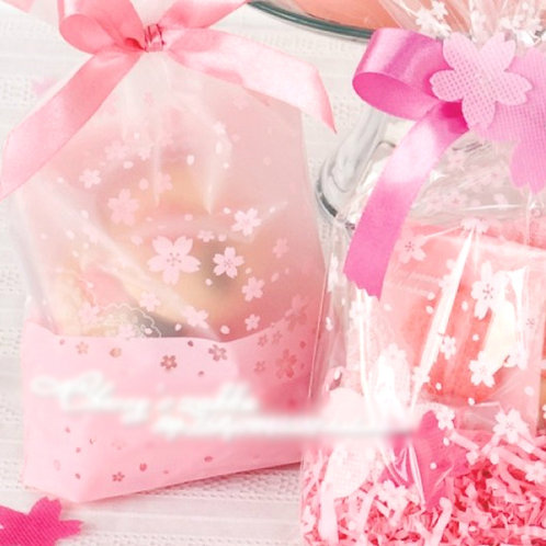 Sakura pink cookie bag FP-04
