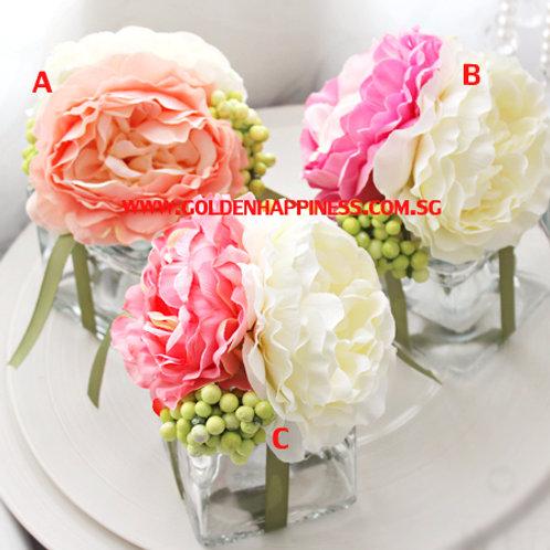 Bouquet Glass Favor Jar FP-31