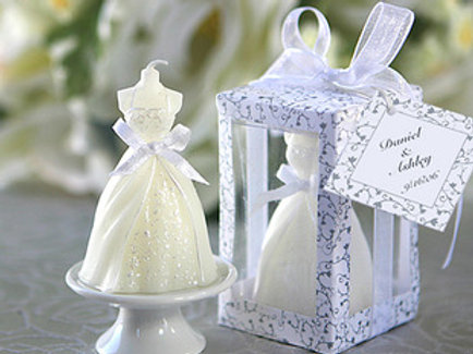 Wedding Gown Candle WCF-07