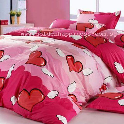 Hearts Bedsheet Set BS-06