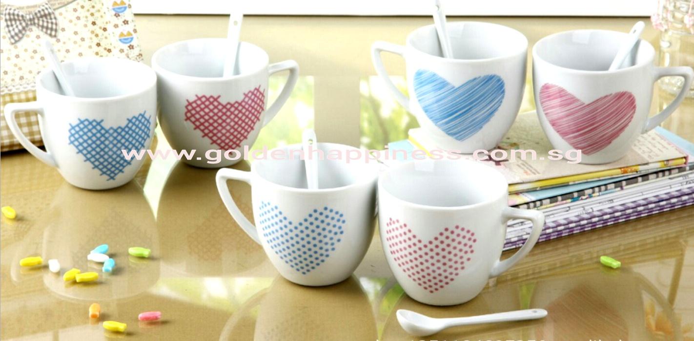 Couple Hearts Mug MG-05