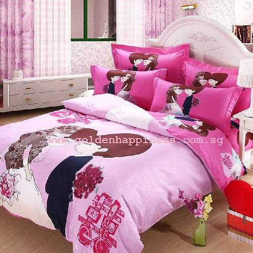 Just Merried Bedsheet Set BS-04
