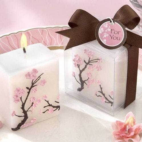 Sakura Blossom Candle WCF-01