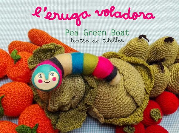 titelles Pea Green Boat ganxet ganchillo crochet