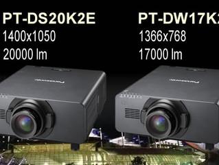 Panasonic начинает поставки новой серии своих самых ярких 4-ламповых проекторов PT-DZ21K2E, PT-DS20K