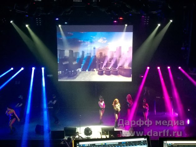Аренда экрана для концерта