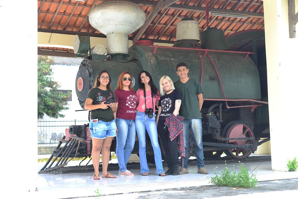 Grupo no museu do algodão