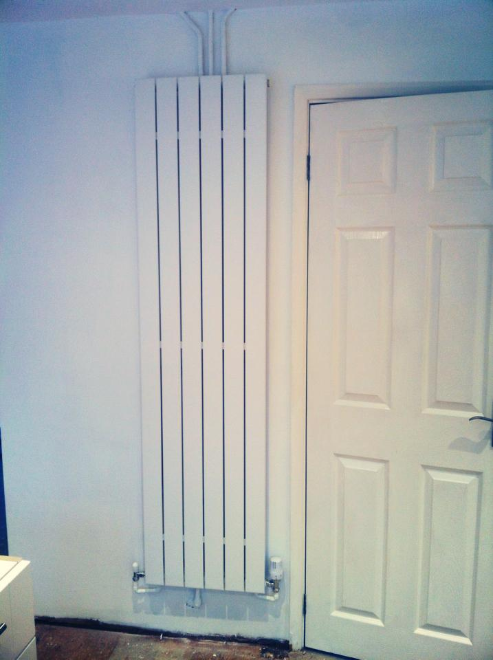 Vertical radiator - Haywards Heath