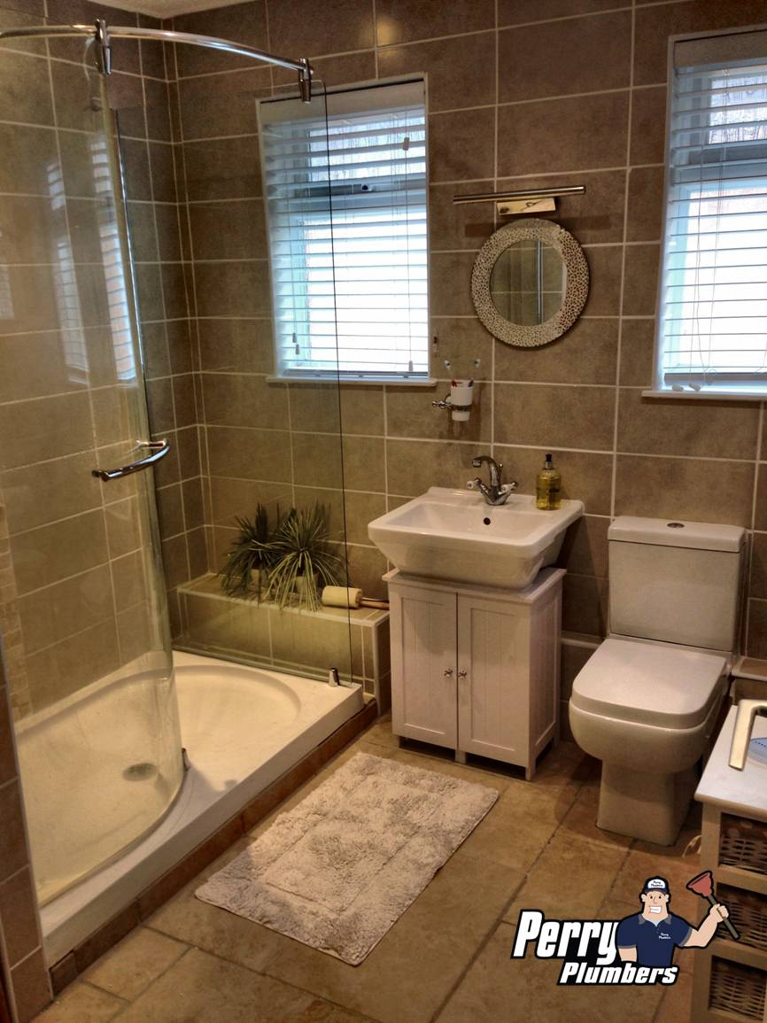 Bathroom renovation - Small Dole