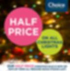 Half Price Christmas Sale LIGHTS insta 2