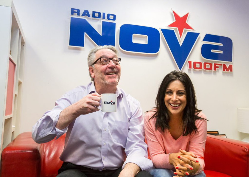 Radio Nova's Lucy Kennedy delighted in our Choice Gorey Store