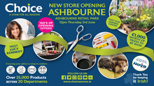 New Choice Megastore Opening in Ashbourne