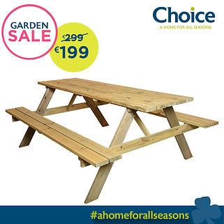 Garden Sale Spruce Picnic Table.jpg