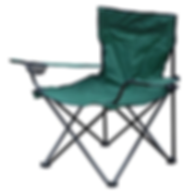 Folding Camping Chair with Drinks Holder