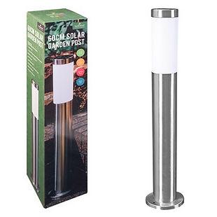 60cm Stainless Steel Classic Solar Light