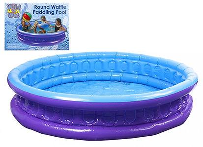 Wild n Wet Round Waffle Paddling Pool