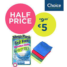 Microfibre cloths Mega Pack