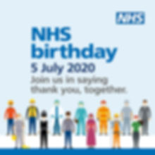 Happy Birthday to our NHS