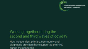 Working Together During the Second and Third Waves of Covid19