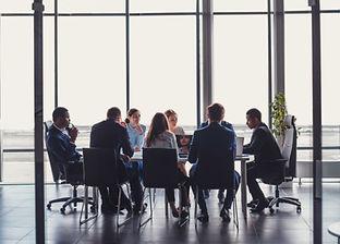 Office board meeting