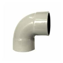 110mm 87.5 degree plain bend