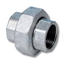 Galvanised union sockets