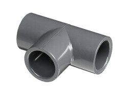 PVC TEE PIPE FITTING