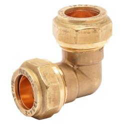 elbow copper compression
