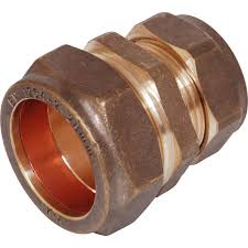 22 - 15mm copper reducing coupling