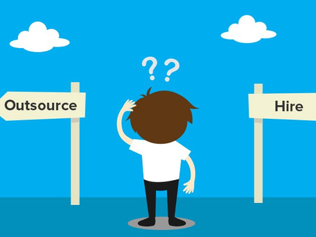 When to hire in-house and when to outsource?