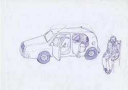 Le Colpe dei Padri - Pen on Paper - A4