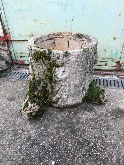 Pflanzgefäß Faux Bois