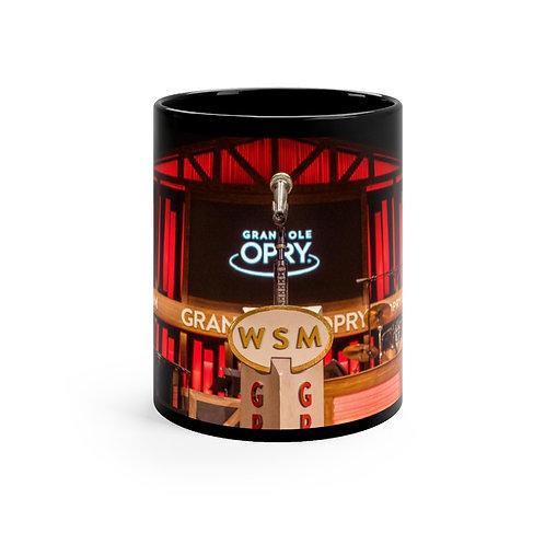 Grande Ole Opry Black mug 11oz