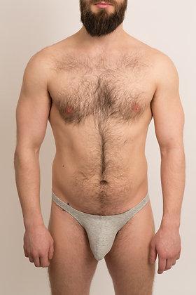 Basic Grey Thong