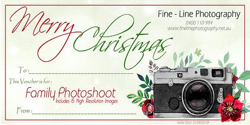 Christmas Voucher - Family Shoot