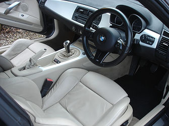 BMW Z4 interior deep cleaned.JPG