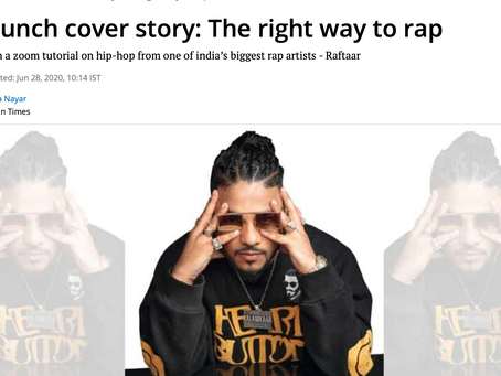 Unwrapping Hindi Rap: HT Brunch Cover Story Interview With Raftaar